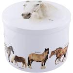 Vanilla Fudge Gift Tin, Horses | Gardiners of Scotland