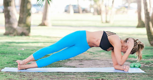 Pilates Moves to Beat Annoying Armpit and Back Fat