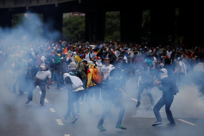 Image result for Venezuelan Anti-Maduro Protests