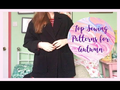 Top Autumn Sewing Patterns: My Most Worn Pieces