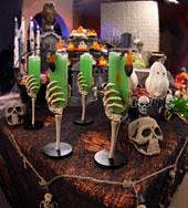 halloween skeleton cups