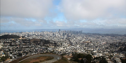 Bird's eye views of San Francisco