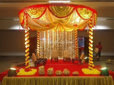 The Transformation Of Mandap Into An Epitome Of Grandeur