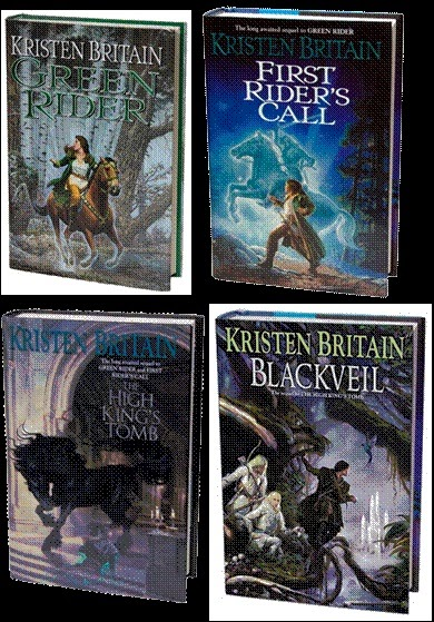 Download Audio books, eBooks free!: Green Rider series 1-4