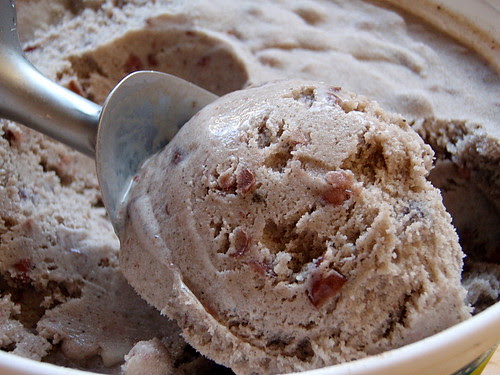 Red Bean Black Sesame Ice Cream