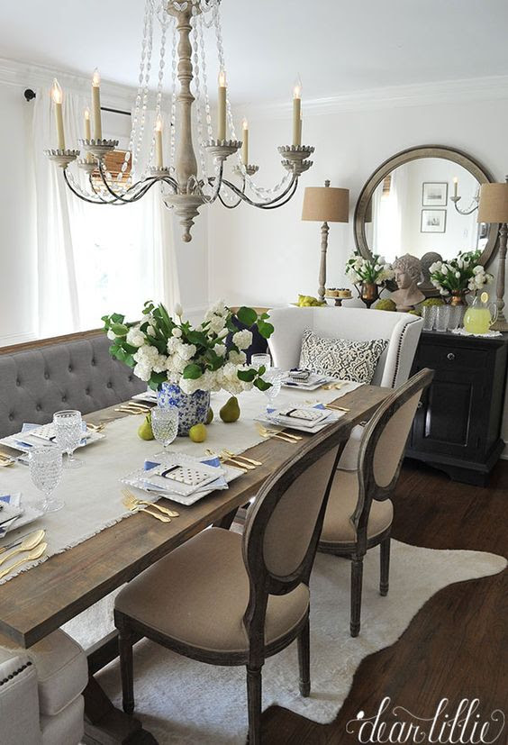 15 French Country Dining Space Décor Ideas - Shelterness