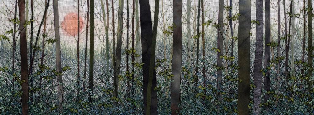 Sunrise Thru Woods