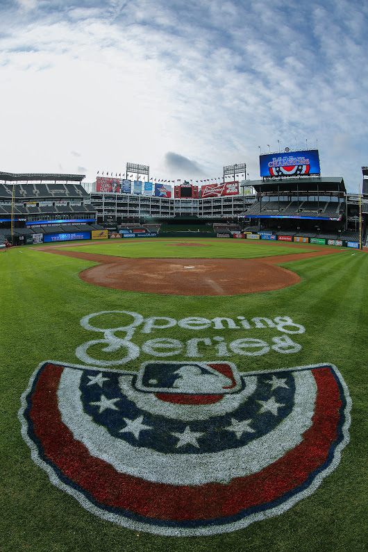 Opening Day in Arlington