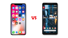 Comparison: Pixel 2 XL vs iPhone X