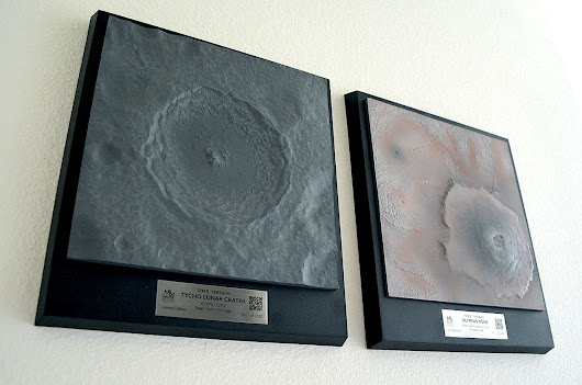 Master Replicas Group taps NASA data to shape 'Space Terrains' | collectSPACE