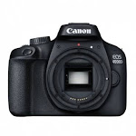 Canon EOS 4000D Kit Box [Body Only] DSLR Camera, Wi-Fi Enabled, International Version - Black by NGP STORE USA