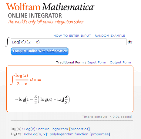 wolfram-math-integration