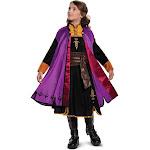 Girls Frozen 2 Anna Prestige Costume