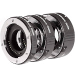 Movo MT-CM47 AF Macro Extension Tube Set | Canon Eos Mirrorless