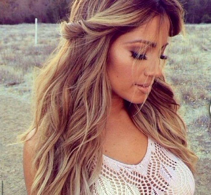 Couleur Cheveux Blond Caramel Sararachelbesy Blog