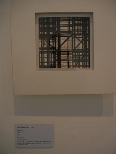 DSCN2864 _ Study #5, Brice Marden, 1976, Collezione Peggy Guggenheim, , Palazzo Venier dei Leoni, Venezia, 15 October