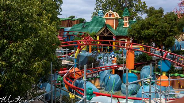 Disneyland Resort, Disneyland, Toon Town, Gadget's Go Coaster, Refurbishment, Refurb