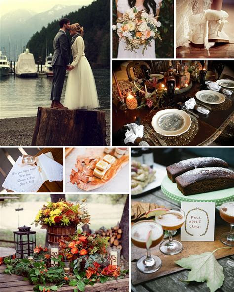 PERFECT FALL WEDDING COLOR PALETTE IDEAS 2014 TRENDS