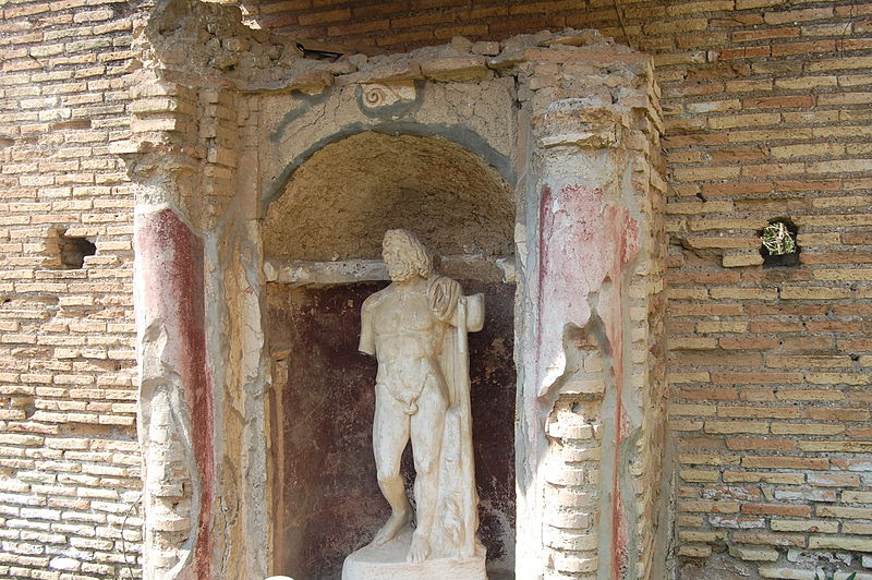 File:Ostia antica - Giardino delle domus 16.JPG
