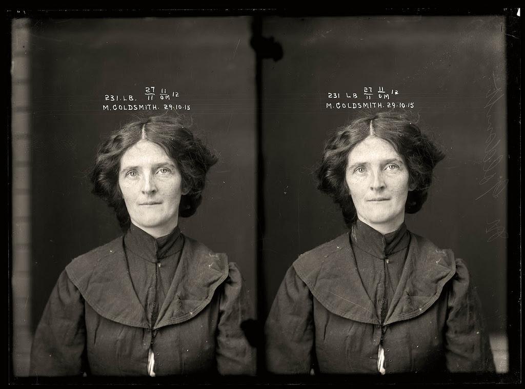 photo police sydney australie mugshot 1920 30 Portraits de criminels australiens dans les années 1920