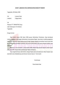 Surat Permohonan Opname Pekerjaan Tersoal L