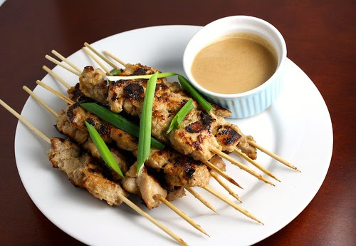 Daring Cooks:Chicken Satay