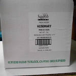 Supherb Ready To Use Fresh Frozen Rosemary, Bullk Pack (5 lbs, 1 Pack)