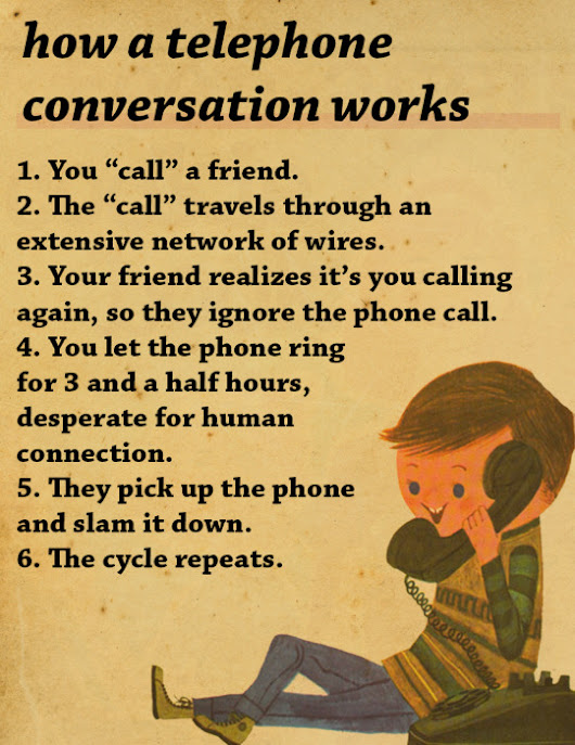 How A Telephone Conversation Works