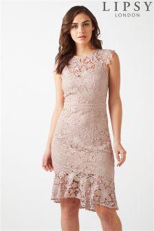 Lipsy sequin top bardot bodycon dress shop online