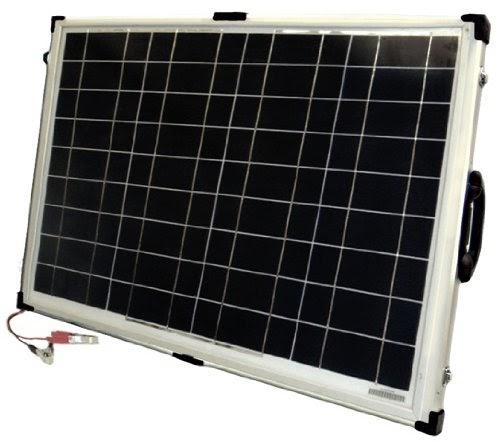 Review Of 40 Watt Portable Rv And Marine Solar Panel With