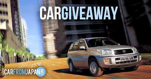 Car Giveaway 2015 | Car From Japan