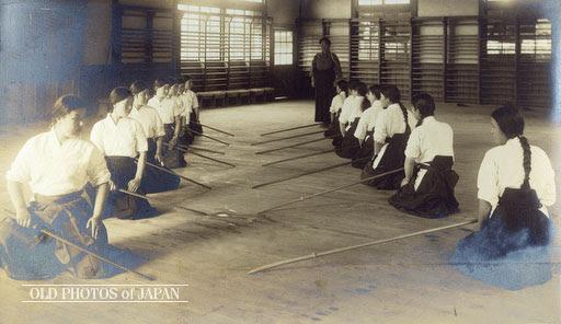 Naganita Class.  Okayama City, 1935.  Source: Old Japan Photos.