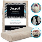 Zeppoli Unbleached Grade 90 Cheesecloth - 100% Fine Cotton Reusable Fabric | Use As Nut Milk Bag, Strainer & Filter for Cooking 44 36 (4 Yards)