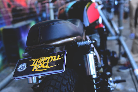 Bikes Rock Up For Throttle Roll 2015