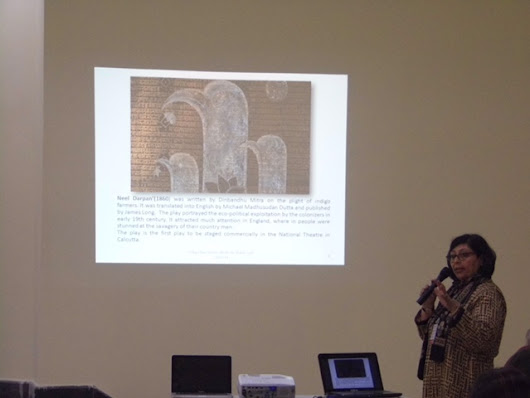 PAPER PRESENTATION 2015-  The khadi March: Gandhi's Political Enlightenment Traversing Human Lives and Humanity By Shelly Jyoti | Shelly Jyoti