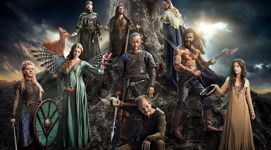 Diretta Telefilm: Soud Tv Shows *Vikings*