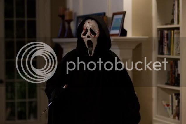 Scream 4 Ghostface Killer
