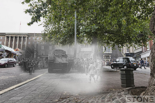 Invisible Works  » Great War ghost: Norwich tank versus taxi 1918