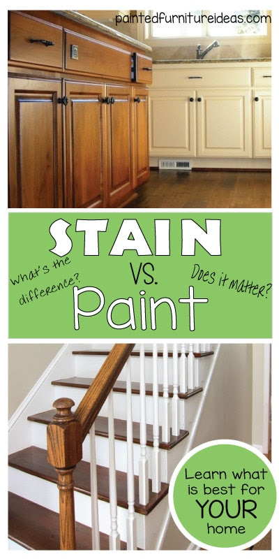 What is the difference between Staining and Painting ...
