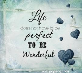 Download Wonderful Life Quote Hd Wallpaper For Laptop Mobile