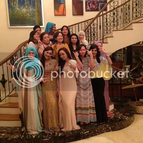fasha dan nora beraya bersama