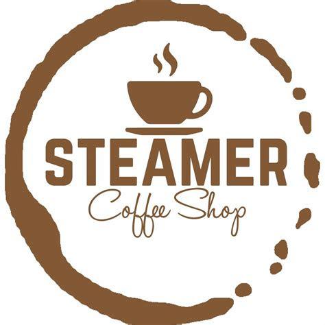coffee shop logo coffee stain place    coffee