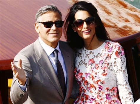 George Clooney, Amal Alamuddin's wedding cost $1.6 million