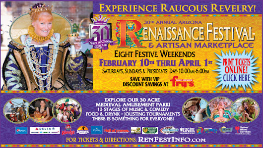 Arizona Renaissance Festival! Contest & Coupon!