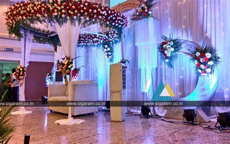 Reception and Wedding Decoration @ Shri Thangamayil