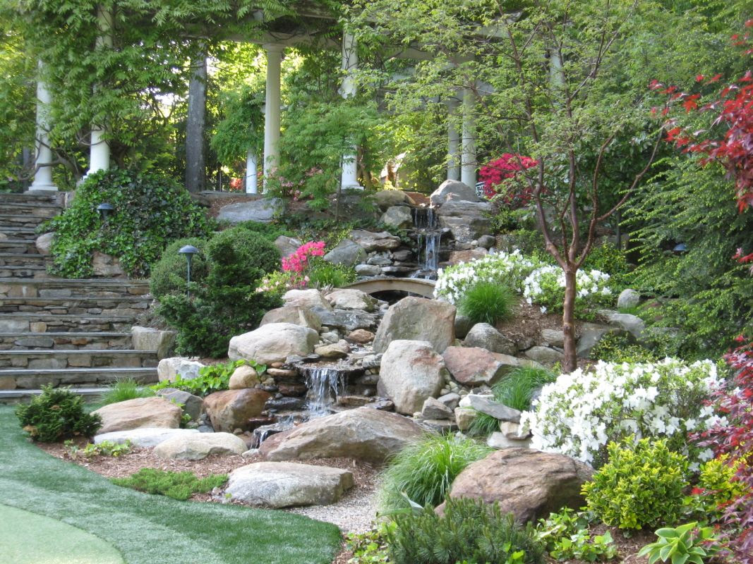 Back Yard Fountains and Waterfalls