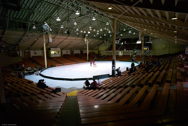 Kezar Pavilion as, that's right, a venue for roller derby