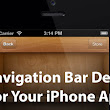 27 Free Navigation Bar Designs To Use In Your iPhone App | iPhone and iOS App Design Templates
