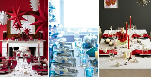 20 Festive Ideas For Setting Your Christmas Table | World inside pictures
