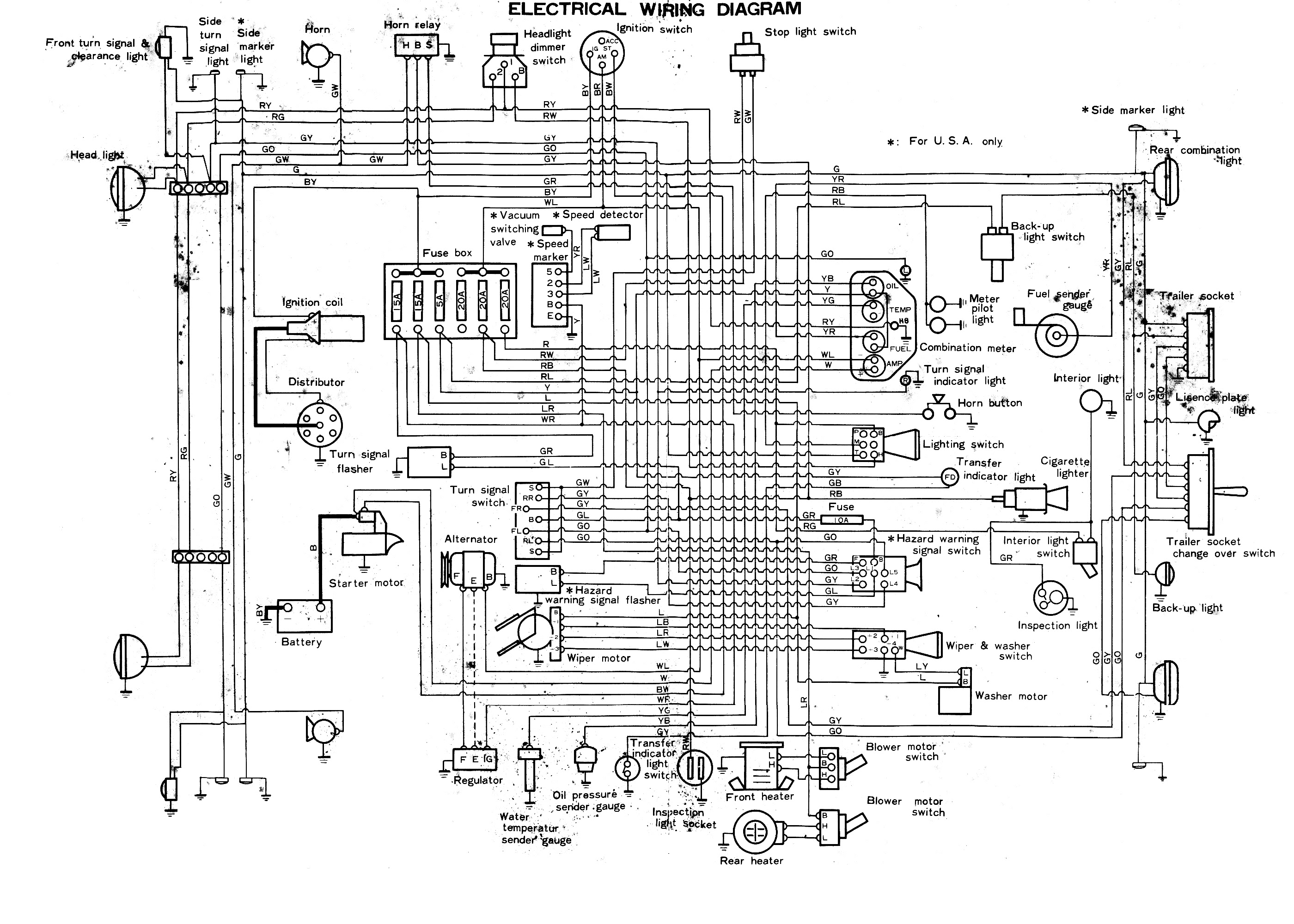 Land Cruiser Sel Wiring Diagram 1971 Mach 1 Engine Wiring Harness Bege Wiring Diagram